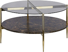 Kave Home - Table basse Kamilah Ø 84 cm