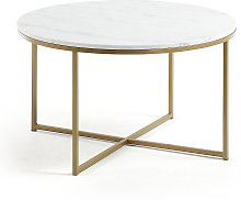Kave Home - Table basse Sheffield Ø 80 cm