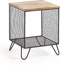 Kave Home - Table d'appoint Aida 38 x 38 cm
