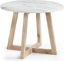 Kave Home - Table d'appoint Haylo Ø 50 cm