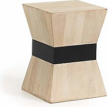 Kave Home - Table d'appoint Hover carrée 35 x