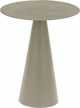 Kave Home - Table d'appoint Shirel Ø 38 cm vert