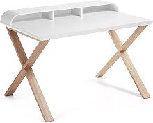 Kave Home - Table de bureau Working 120 x 79 cm