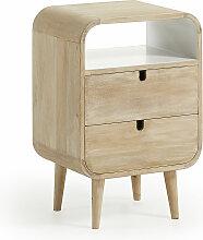 Kave Home - Table de chevet Georg 40 x 60, 5 cm
