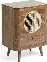 Kave Home - Table de chevet Geraldine 45 x 62 cm