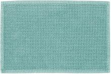 Kave Home - Tapis de bain Miekki turquoise clair