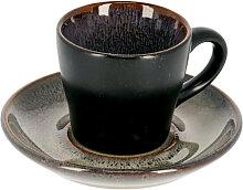 Kave Home - Tasse de café Odile avec sous-tasse