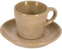 Kave Home - Tasse de café Vreni avec sous-tasse