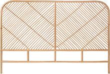 Kayan - Tête de lit en rotin 168 cm