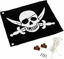 KBT - Drapeau Pirates avec système d'hisse -