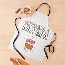 Kdrama Mama qui aime le café ou le thé Tablier
