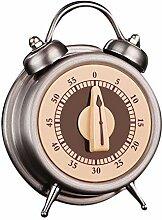 Keebgyy Minuteur de cuisine numérique, horloge 24