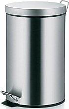 Kela 10925 poubelle à pédale 12 litres, acier