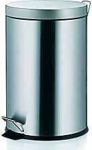 Kela 10928 poubelle à pédale 20 litres, acier