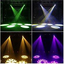 KELITE LED 60W RGB Projecteur scène, Lyre