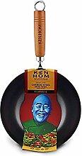 Ken Hom Classic KH320001 Wok en Acier Carbone avec