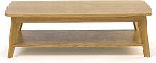 Kensal - Table basse 2 plateaux bois
