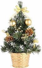 Kentop Sapin de Noel Mini Arbre de Noël