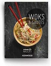 Kenwood LIVRE WOKS ET SAUTÉS - Livre de cuisine