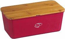 Kesper 18093 Boîte à pain en bambou et mélamine