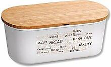 Kesper 58500 Boîte à pain, Blanc