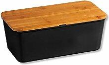 Kesper Boîte à pain 58091 en mélamine et bambou