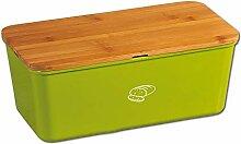 Kesper Boîte à pain 58092 en mélamine et bambou
