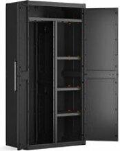 Keter | armoire utilitaire detroit xl , noir, 89 x