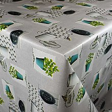KEVKUS Nappe de Table en Toile Cirée 160 cm
