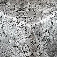 KEVKUS Nappe en toile cirée de 160 cm de large