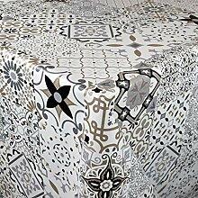 KEVKUS Nappe en toile cirée de 160 cm de largeur
