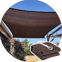 KFDQ Voile D'Ombrage, Hdpe Rectangle 95% UV