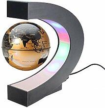 KHFJ Lampe De Bureau LEDGlobe Flottant De