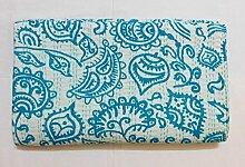 Kiara - Couvre-lit indien fait à la main - Coton