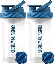 KICHLY Shaker proteines avec boule mélangeuse