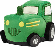 Kiddy-Pouf Tracteur - Vert Anis