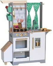 Kidkraft - cuisine en bois pour enfant terrace