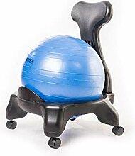Kikka Active Chair blue - ergonomic chair with