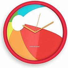 Kikkerland Vinyle Horloge Murale, 8-inch