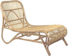 Kim - Chaise longue en bambou