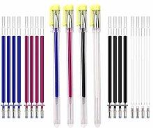 KINBOM Lot de 4 stylos à encre pour textile