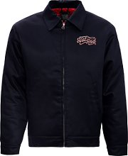King Kerosin Hot Rod, veste textile - Noir - L