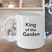 King of The Garden Tasse à café en céramique