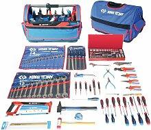 Kingtony - Boite à outils textile 140 pièces