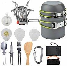 Kinshops Réchaud à gaz Portable Réchaud à gaz