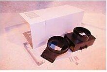 Kit Cheminee X2 +Deflecteur + Raccord Pour Hotte