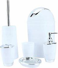Kit d'accessoires de salle de bain, pièces