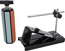 Kit d'affûtage de couteaux, rotatif à 360 °