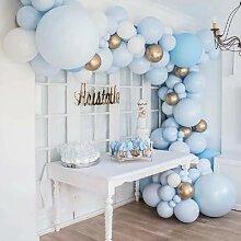 Kit d'arche à ballons bleu Macaron, 103