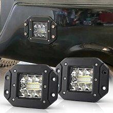 Kit d'éclairage auxiliaire LED pour Jeep